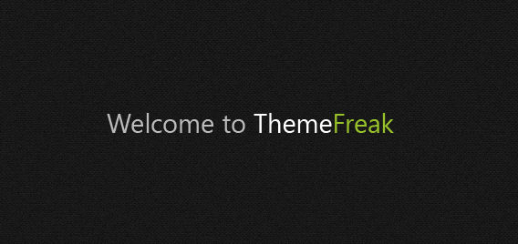 Welcome to ThemeFreak